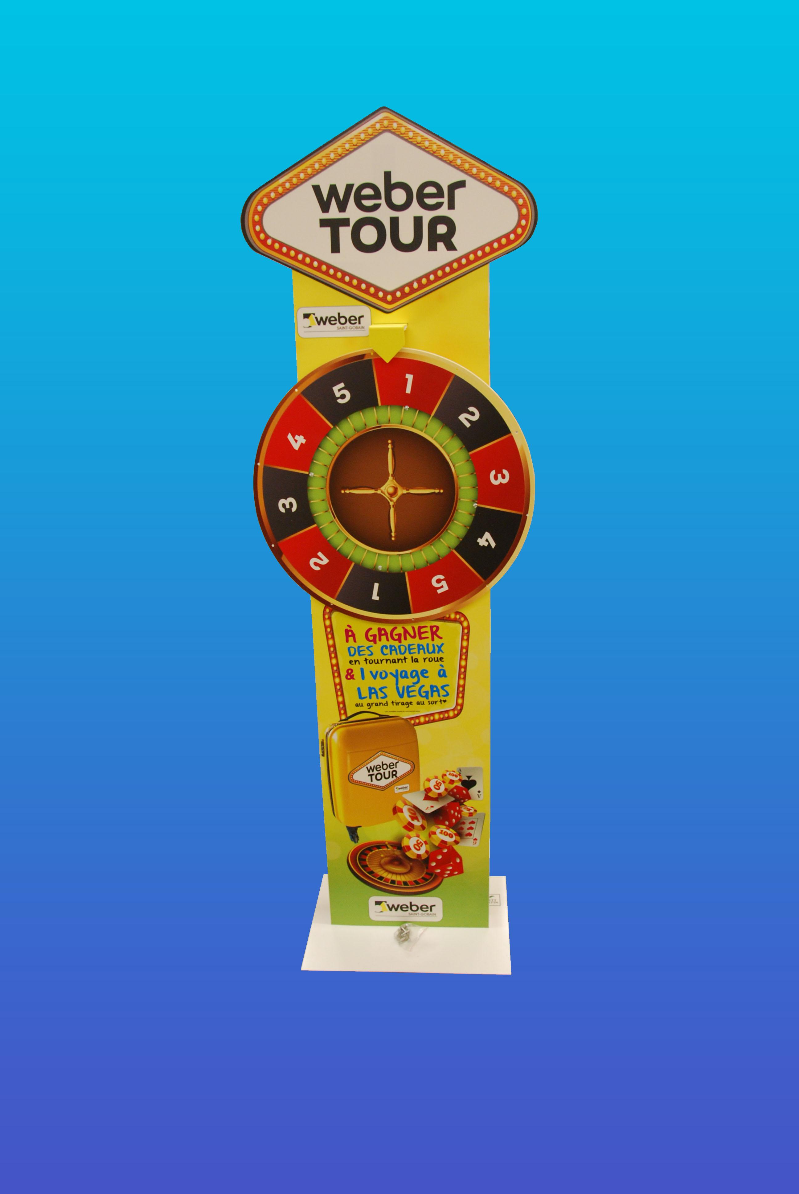 Turbo Roue de la Fortune - Roue de Loterie à partir d'1 exemplaire  SL28